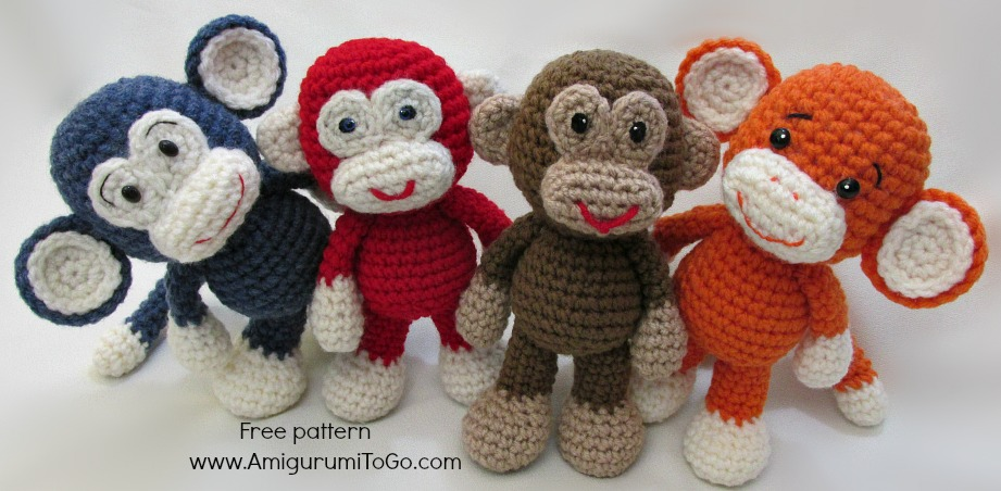 Video Amigurumi Monkey Pattern by sojala on DeviantArt