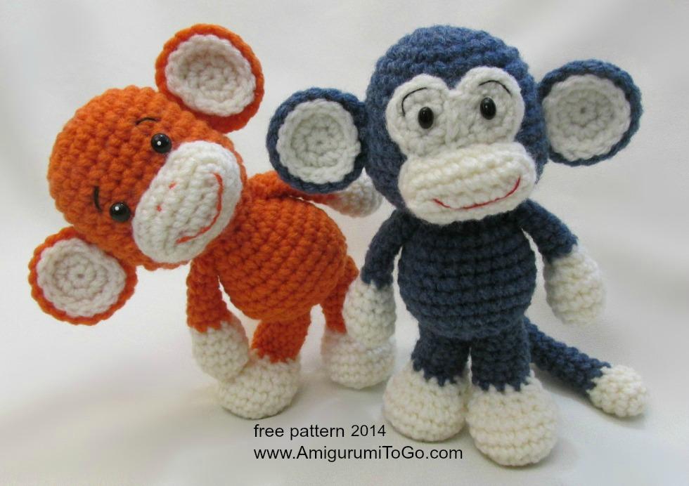 Amigurumi Big Animals : Crochet Along Monkey Video by sojala on DeviantArt