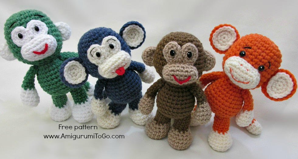 Crochet Monkey Free Pattern by sojala on DeviantArt