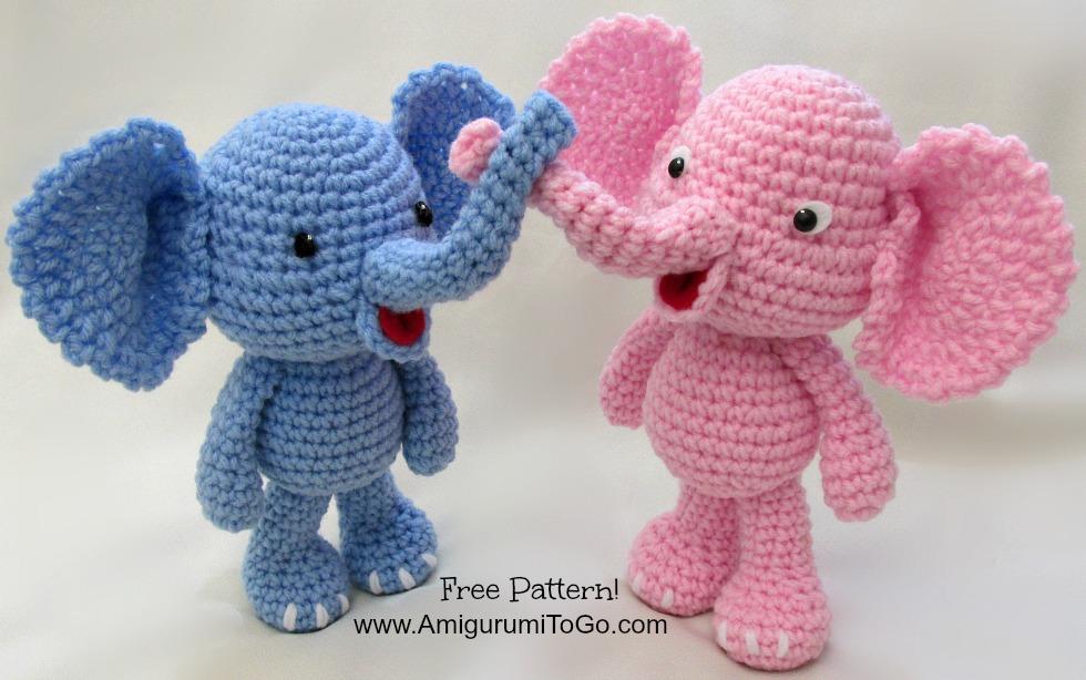 Crochet Elephant : Free Elephant Crochet Pattern by sojala on DeviantArt