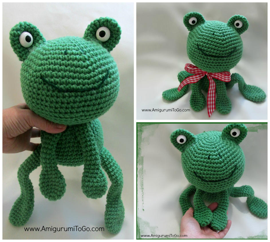 Free frog amigurumi pattern by sojala on DeviantArt