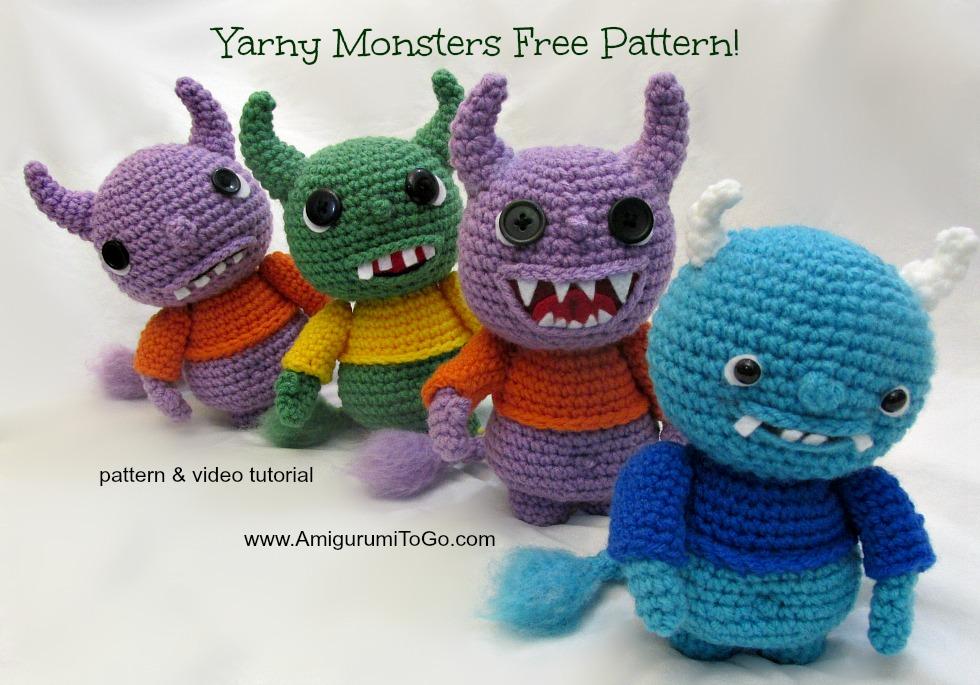 Amigurumi Cookie Monster Free Pattern : Free Amigurumi Monster Pattern by sojala on DeviantArt