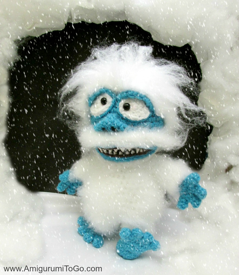 Bumble Abominable Snow Monster Amigurumi Film by sojala on ...