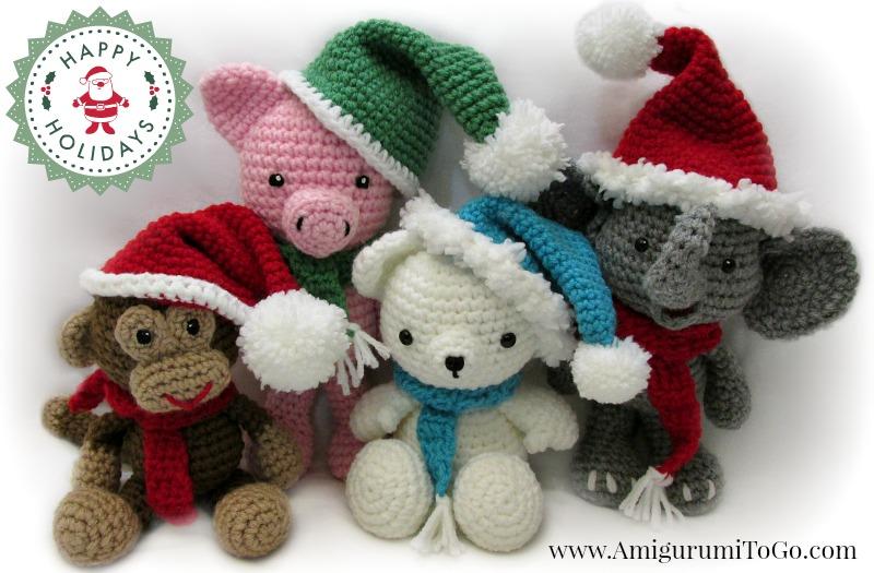 Amigurumi Hat Patterns : Christmas Amigurumi by sojala on DeviantArt