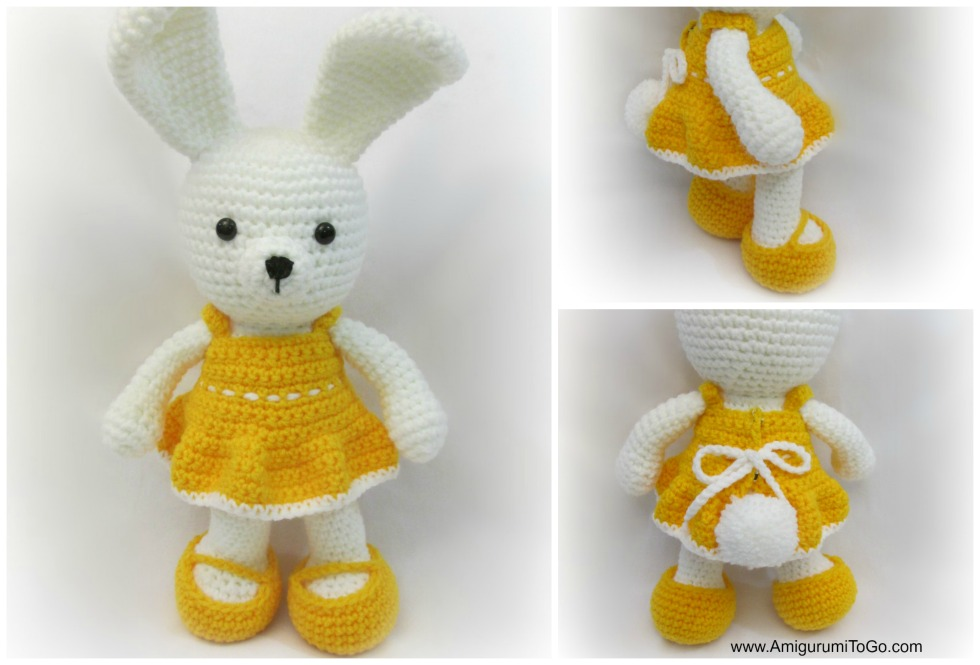 Amigurumi Bunny Girl : Dress Me Bunny by sojala on DeviantArt