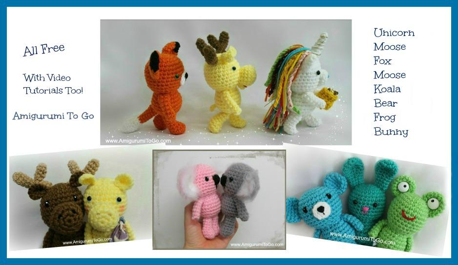 Amiguroom Toys | Free amigurumi patterns | 544x938
