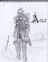 Anri of Astora by JLing