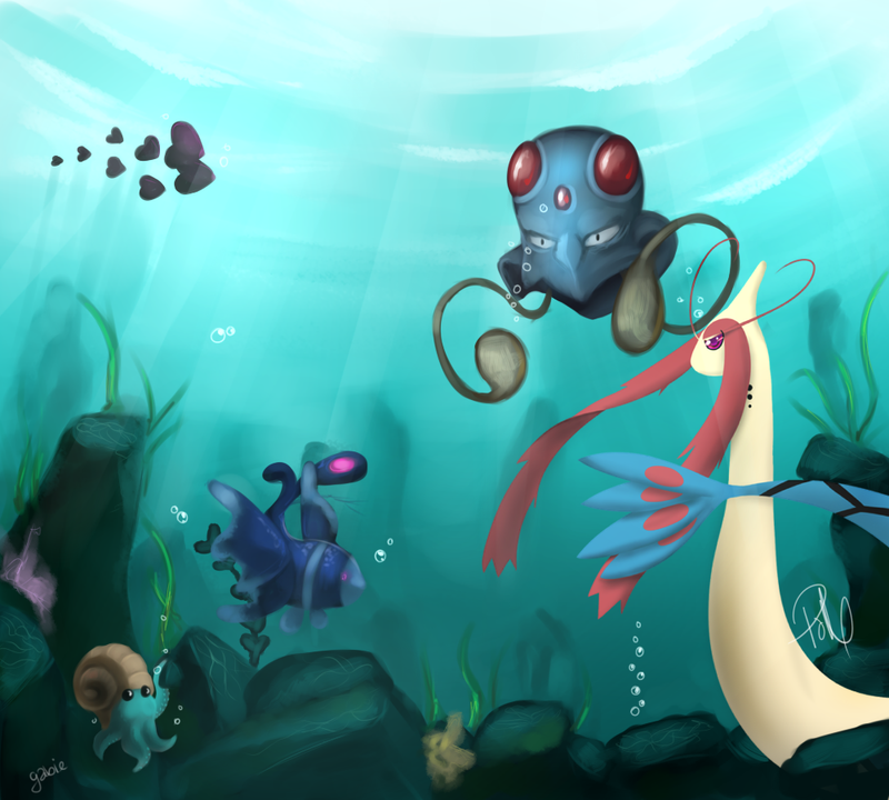 Underwater by PrinceOfMay