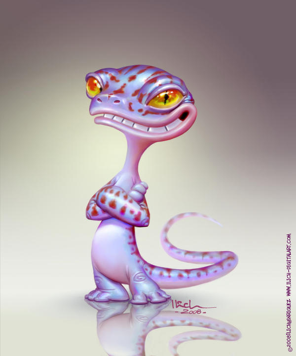 Known as Geko by Ilacha