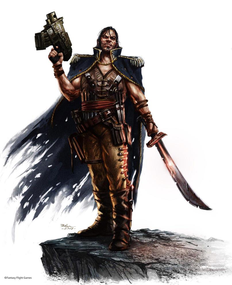 Warhammer Vornas Crimson by Ilacha