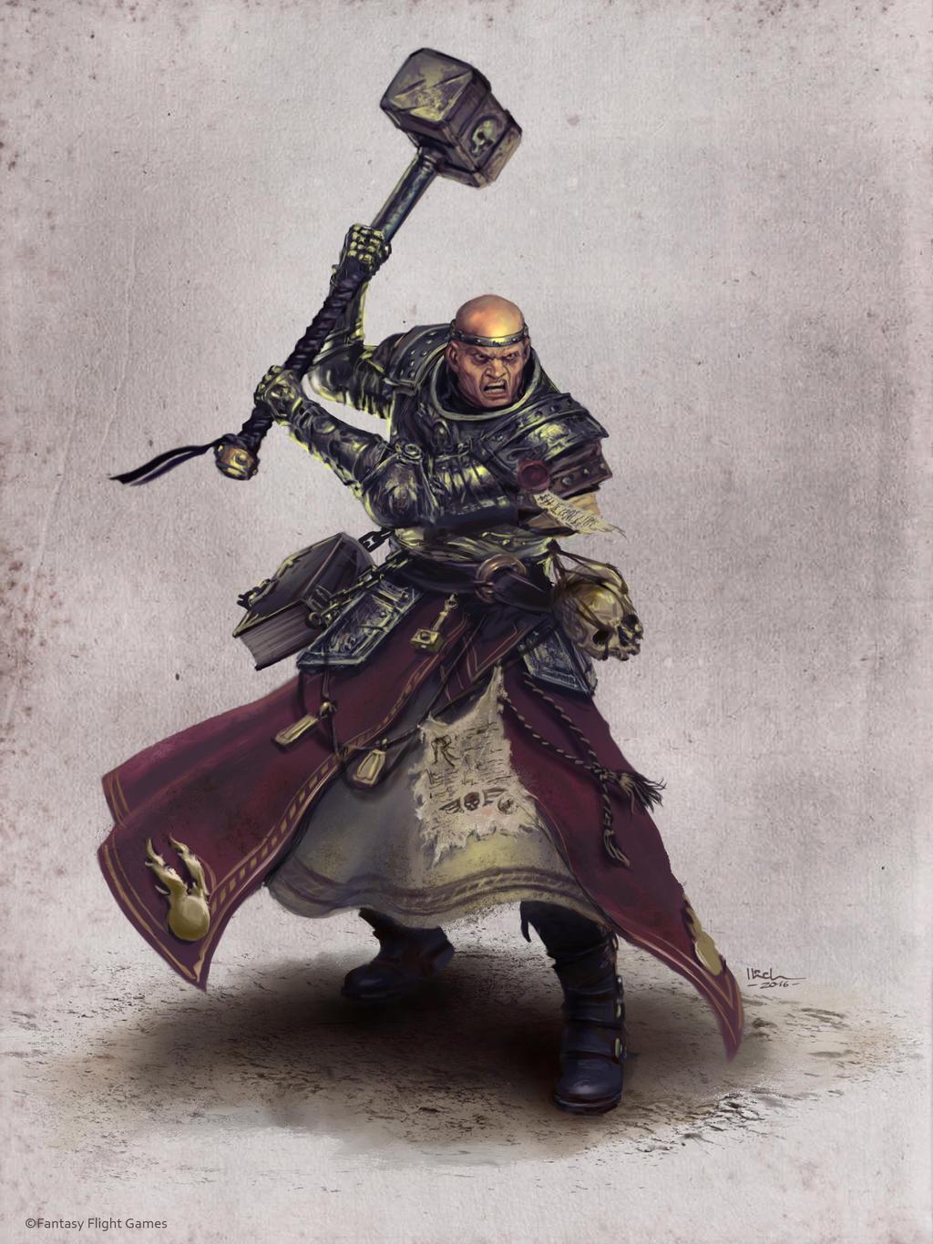 WarriorPriest Ilich Henriquez