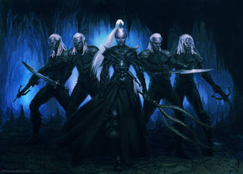 The Drow-Ilich Henriquez by Ilacha