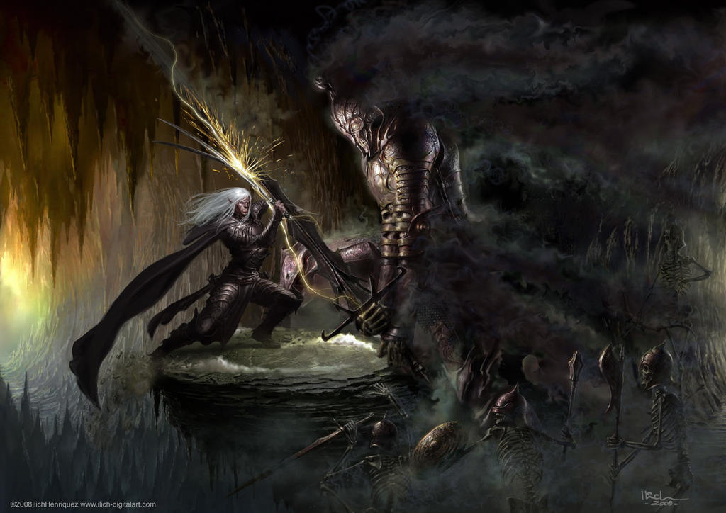 Drizzt - The Unholy Warlord by Ilacha