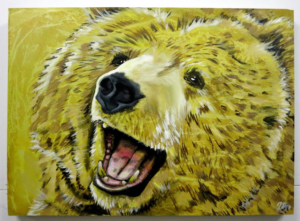 Bear 2 by oreillyfinearts