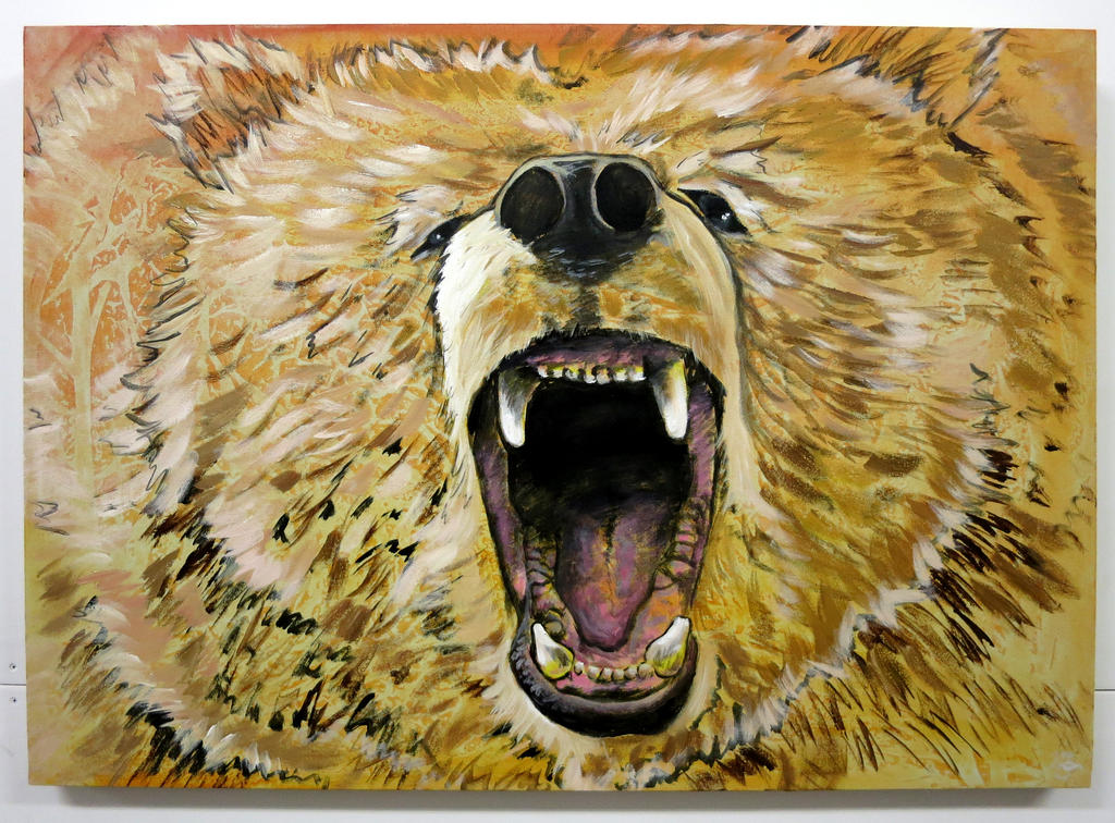 Bear by oreillyfinearts
