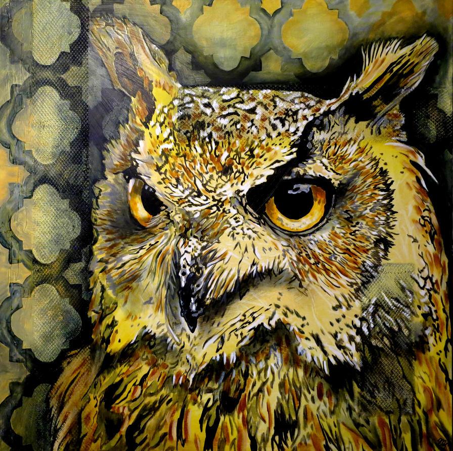 Owl Distane by oreillyfinearts