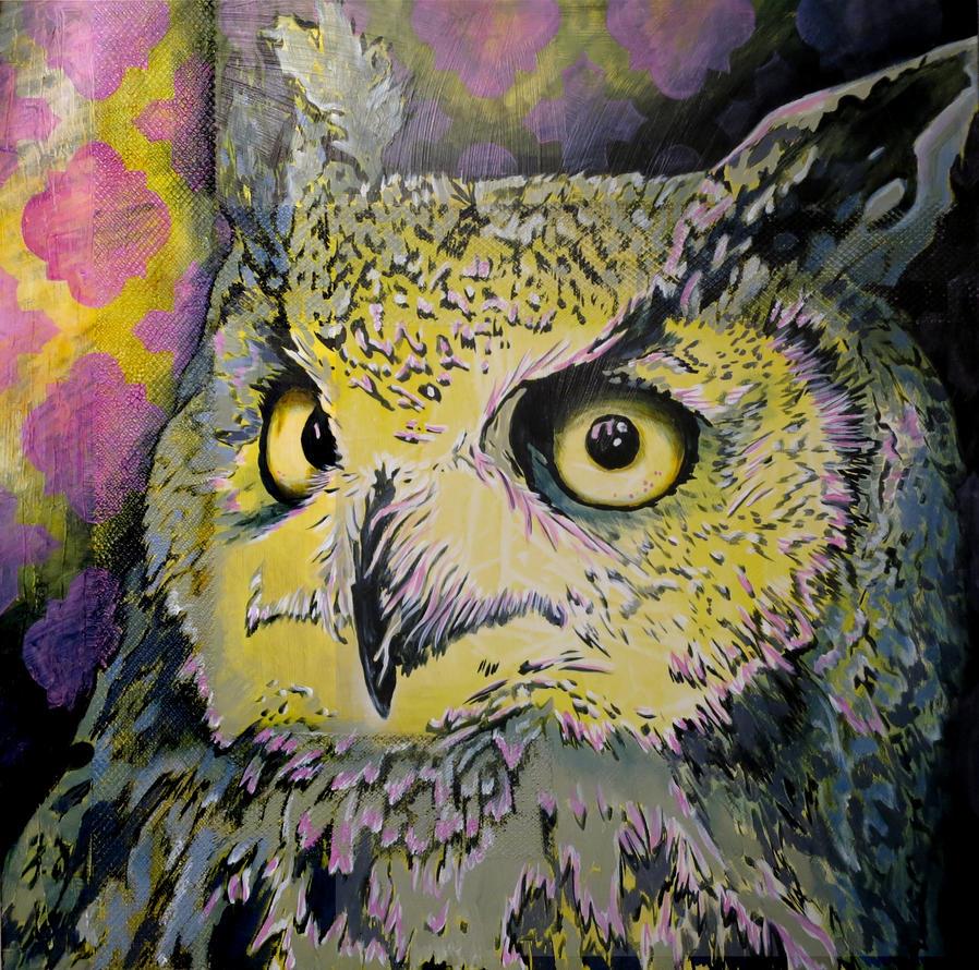 Owl Suprize by oreillyfinearts