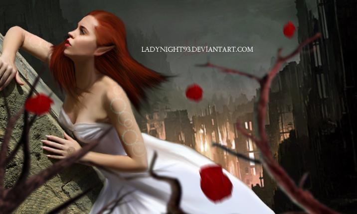 - RED ANGEL - by LadyNight93