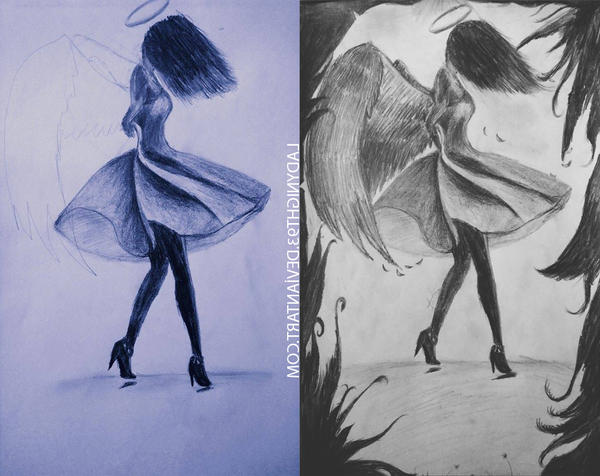 Dance: The Gift of Heaven/Drawing by LadyNight93