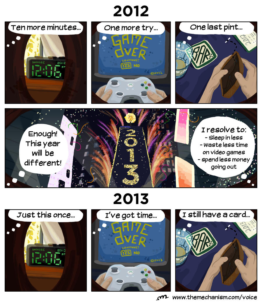 New Year's Resolutions by protoPrimus