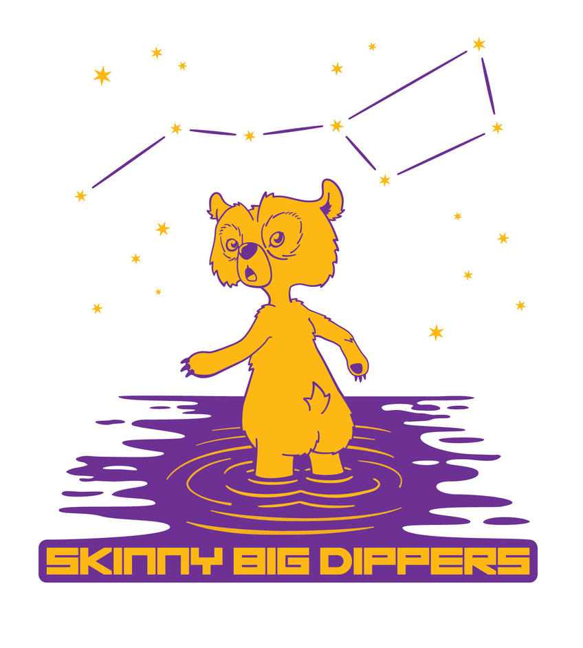 Skinny Big Dippers - Jersey Design by protoPrimus