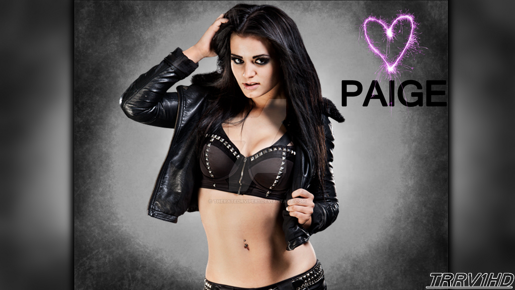 WWE Paige GFX By TheRatedRViper1