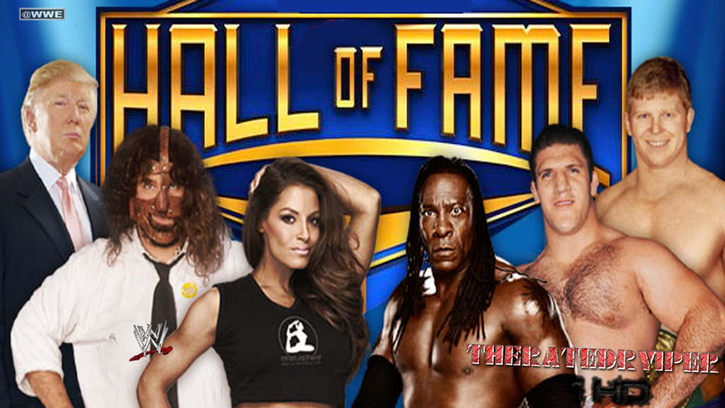 WWE: 2013 Hall Of Fame Wallpaper by TheRatedRViper1