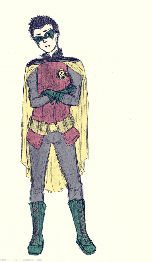 Damian Wayne by EpicNeutral