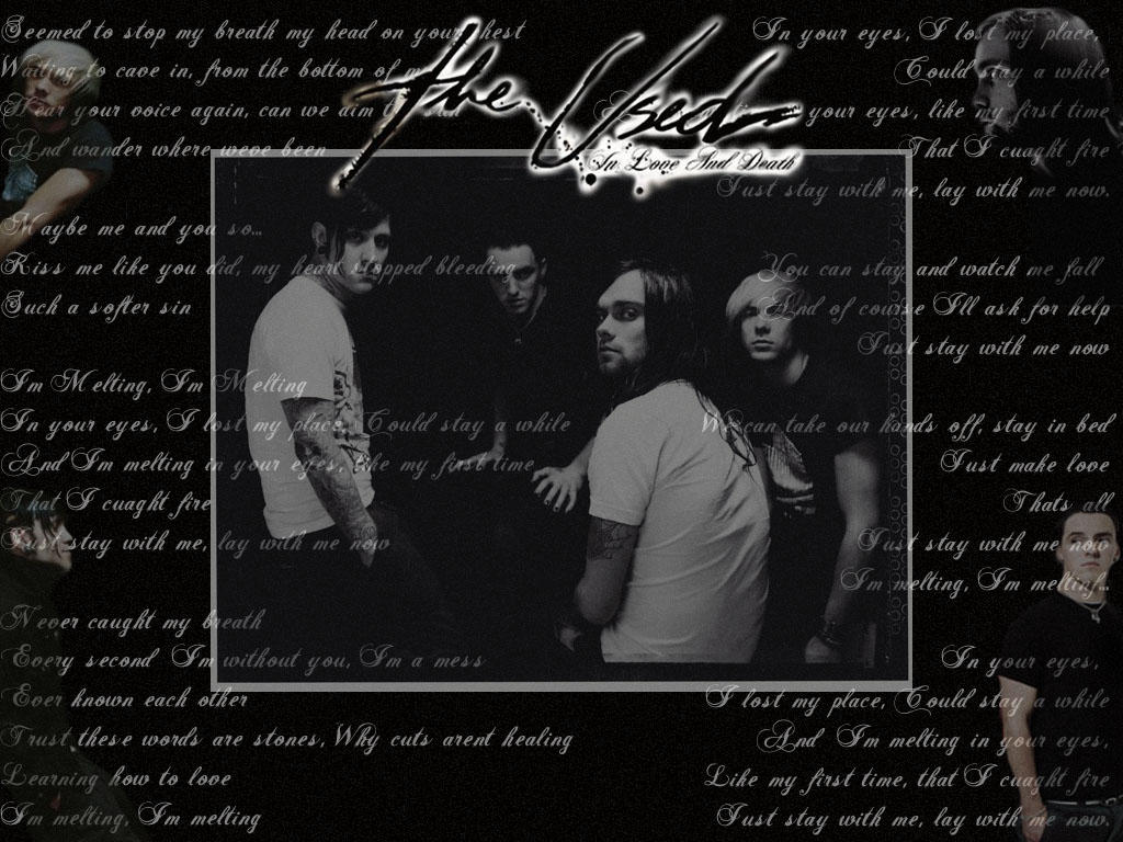 The Used Wallpaper by ~theused-fans on deviantART