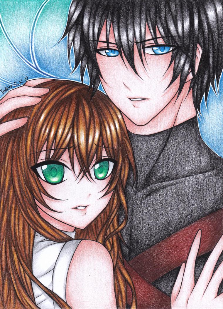 Com: I'll protect you by chroma-kun