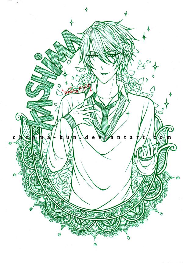 GSNK: Kashima by chroma-kun