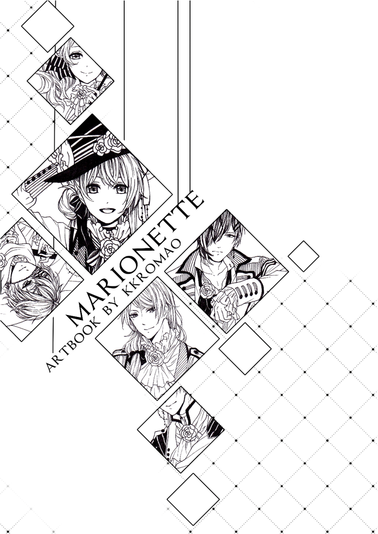 'Marionette' Artbook Preorder (Local) by kkromao