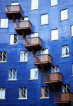 Blue building by athanasiaa