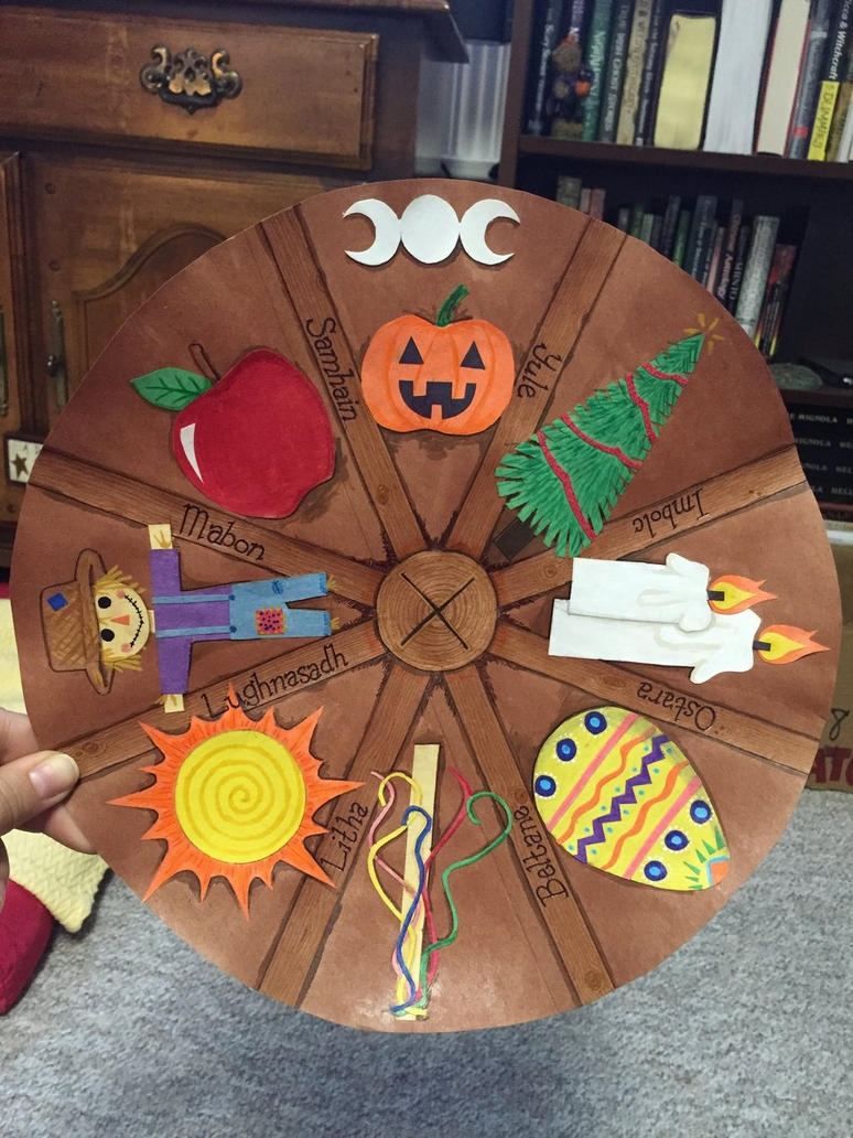 Wheel of the Year by Schweetie