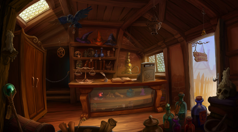 Magic Shop By Aeyolscaer On Deviantart
