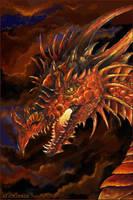 Fierce Dragon by Aeyolscaer