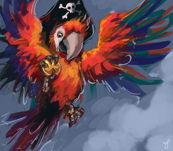 Pirate Parrot By Aeyolscaer On DeviantArt