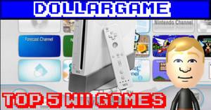 Dollargame - Top 5 Wii Games Thumbnail by Dollarluigi
