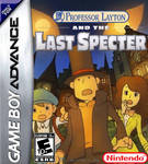 Prof. Layton and the Last Specter GBA Boxart