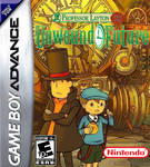 Prof. Layton and the Unwound Future GBA Boxart