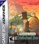 Prof. Layton and the Diabolical Box GBA Boxart