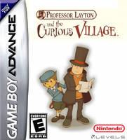 Prof. Layton the Curious Village GBA Box by Dollarluigi