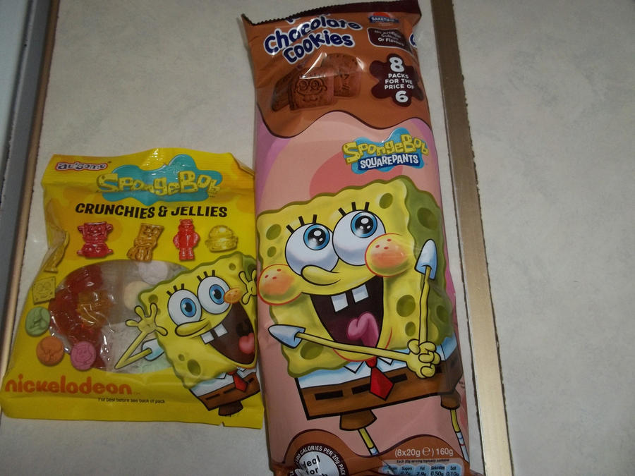 Spongebob Food by extraphotos