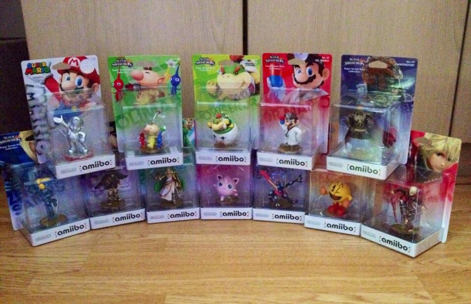 Amiibo Figure Characters 5 by extraphotos