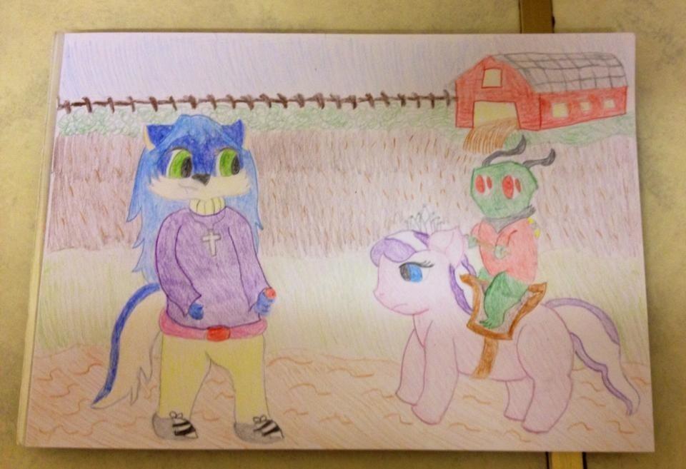Diamond Tiara Pony Rides by extraphotos