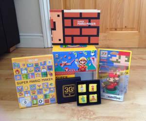 Super Mario Maker Collection with Amiibo by extraphotos