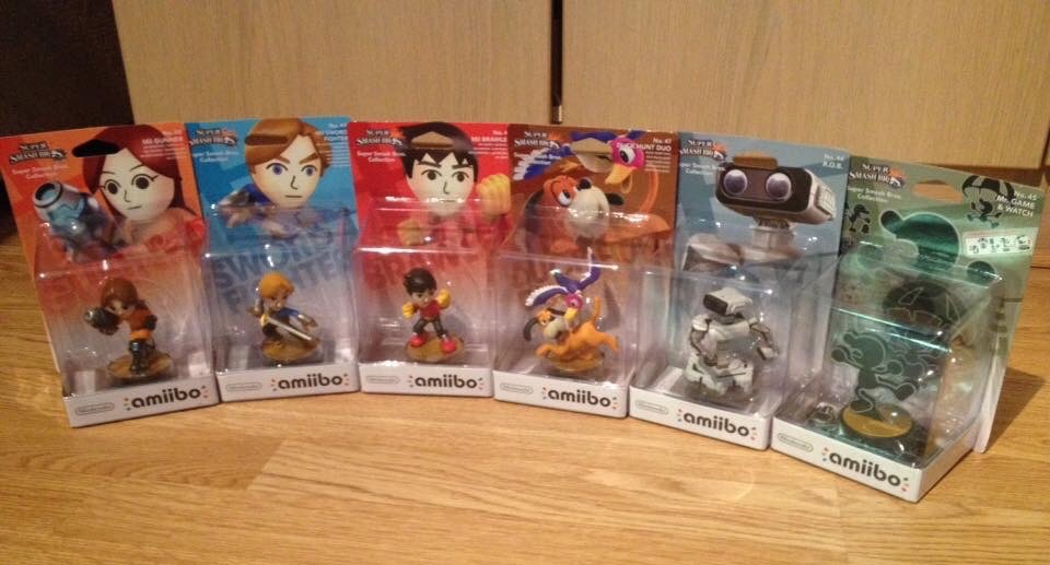Amiibo Figure Characters 6 by extraphotos