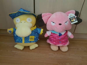 Psyduck and Snubbull Teddy
