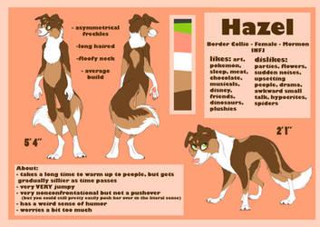 Hazel Ref (New Sona :0) by PocketCollie