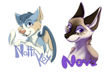 AWU Badges by PocketCollie